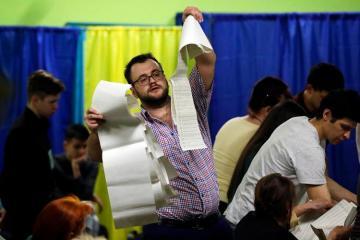 MSK Ukraynada prezident seçkiləri ilə bağlı ikinci turun keçiriləcəyini elan edib
