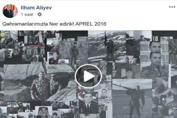 Президент поделился на Facebook видеороликом в честь годовщины апрельских боев  - [color=red]ВИДЕО[/color]