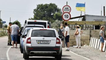 Украина активно укрепляет границу с Россией