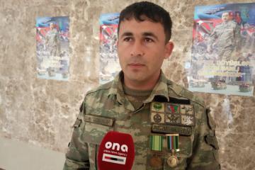 Я хочу водрузить наш флаг и на других оккупированных территориях – азербайджанский военнослужащий