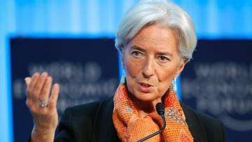 IMF's Lagarde says global growth outlook 'precarious' amid trade tensions