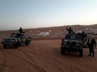 Eastern Libya forces move west, talk about 'terrorism' mission