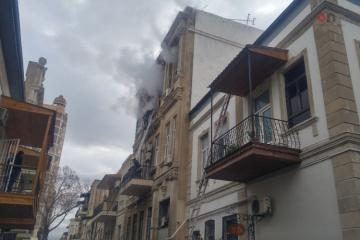 Fire broke out at building of Ministry of Culture - [color=red]PHOTO[/color] - [color=red]UPDATED[/color]