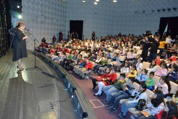 Gənc Tamaşaçılar Teatrında Beynəlxalq uşaq kitab gününə həsr olunmuş tədbir keçirilib