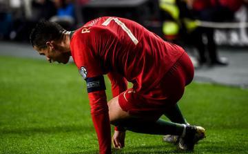 """Ronaldo Çempionlar Liqasında """"Ayaks""""la oyuna hazırdır"""