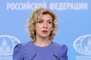 """Zakharova: """"No point to comment on the specific statements"""""""