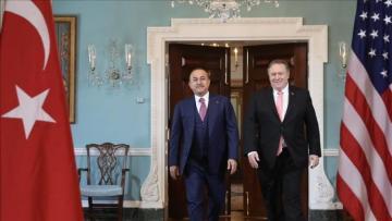 US, Turkish top diplomats hold State Dept. talks