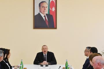 """Prezident İlham Əliyev: """"Aprel döyüşləri göstərdi ki, Azərbaycan heç vaxt işğalla barışmayacaq"""""""