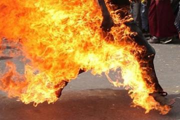39-летний житель Баку поджег себя