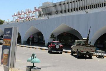 Xəftarın ordusu Tripoli hava limanını tutub
