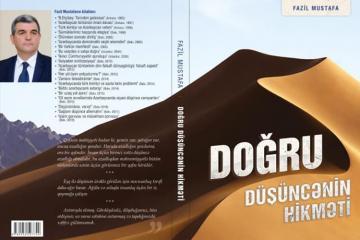 Fazil Mustafanın yeni kitabı çapdan çıxıb
