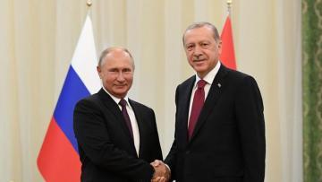 """Putin: """"Türkiyəyə hərbi yönümlü malların çatdırılması üzrə layihələr gündəmdədir"""""""
