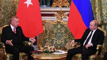 Путин призвал отменить действующие ограничения в торговле с Турцией