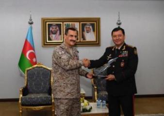 Наджмеддин Садыков встретился с командующим ВВС Саудовской Аравии