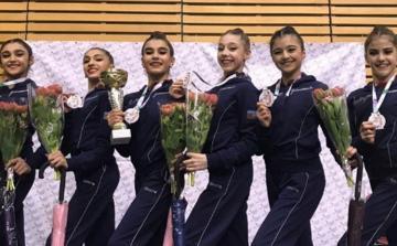Bədii gimnastlarımız Varşavada 5 medal qazanıb