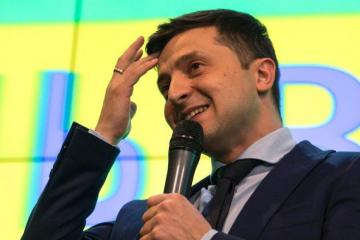 Ukrainian presidential candidate Zelenskiy says he is ready to hold talks with Putin