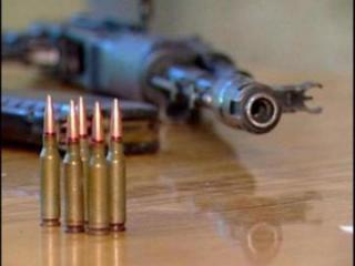 Nardaran sakinindən silah-sursat götürülüb