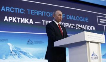 """Vladimir Putin: """"I don't see any specific military tension in the Arctic"""""""