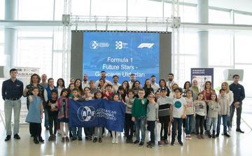В Баку прошел тренинг для «будущих звезд» Формулы 1