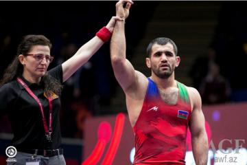 Azerbaijani wrestler became European champion without fighting out final game