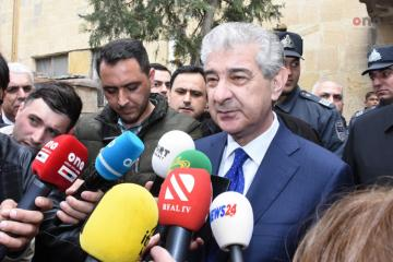 """Ali Ahmadov: """"Fire-affected IDPs to be provided with temporary residence"""""""