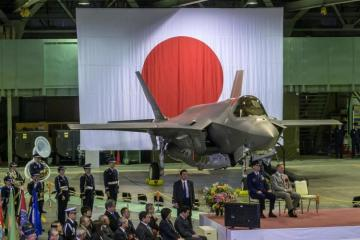 Japan's air force loses contact with F-35 stealth fighter