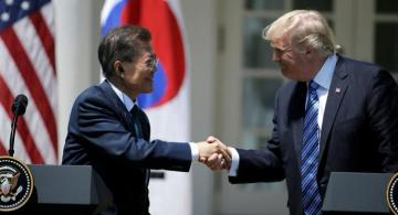Moon, Trump agree top-down approach in nuclear diplomacy with N Korea