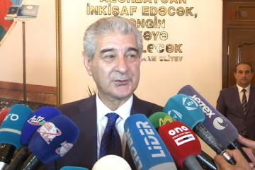 Ali Ahmadov spoke about the fire hit IDPs dormitories