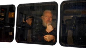 U.S. charges Julian Assange with hacking conspiracy with Chelsea Manning