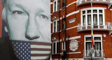Trump says knows nothing about Assange's arrest