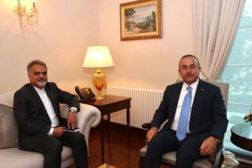 Mövlud Çavuşoğlu İran səfiri ilə SEPAH-ın terror təşkilat edilməsini müzakirə edib