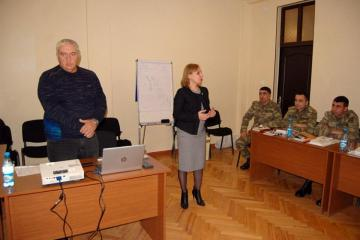 ICRC members met with servicemen
