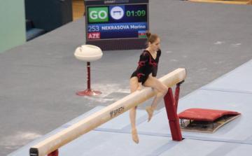 Азербайджанская гимнастка обеспечила себе путевку на Европейские игры-2019
