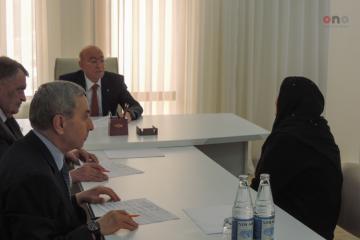 Кямаледдин Гейдаров проводит прием граждан в Губе