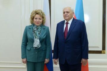 Матвиенко: Россия не уменьшит свои усилия по решению нагорно-карабахской проблемы