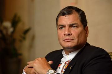 """Facebook"" удалил аккаунт экс-президента Эквадора, давшего убежище Ассанжу"