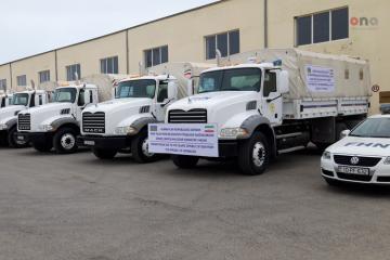 Humanitarian aid convoy from Azerbaijan to Iran - [color=red]Reportage[/color]