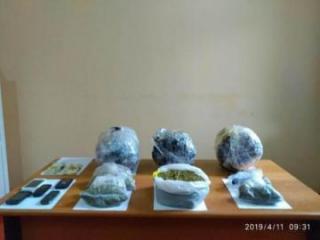 İrandan Azərbaycana 6 kq-dan çox narkotik gətirilməsinin qarşısı alınıb