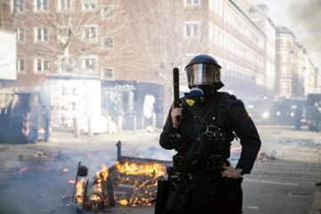 Kopenhagen polisi nümayişlər zamanı 23 nəfəri həbs edib