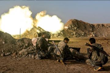 При обстреле Алеппо погибли шесть мирных жителей и пять сирийских военных