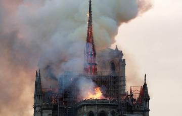 Fire at Notre Dame cathedral extinguished - [color=red]PHOTO[/color] - [color=red]VIDEO[/color] - [color=red]UPDATE 4[/color]