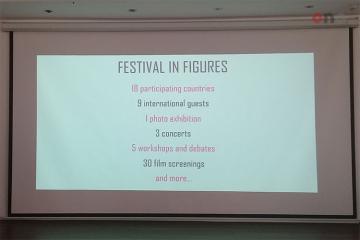 """Bakıda 3-cü """"İmagine Avro Tolerantlıq"""" festivalının mətbuat konfransı keçirilib"""