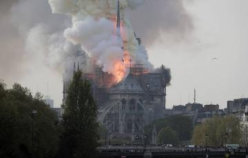 Pledges pour in to help rebuild Notre Dame Cathedral after fire