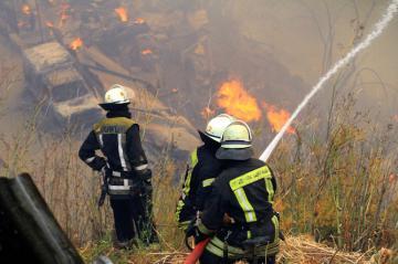 В Иерусалиме загорелась мечеть