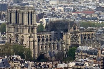 В МВД Франции рассказали о решающих минутах в спасении Нотр-Дама
