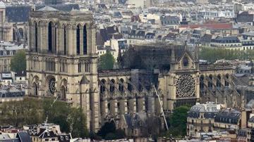 Риски для структуры Нотр-Дама остаются – МВД Франции