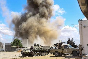 Tripoliyə raket zərbələri endirilib, ölənlər və yaralananlar var