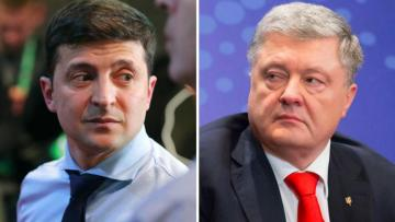 Zelenski və Poroşenkonun debatlarında 12 min nəfər iştirak edəcək