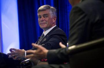Fed's Harker sees 'sound' economy, forecasts future rate hike