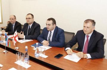 Fuad Muradov Gürcüstanın xarici İşlər nazirinin müavini ilə görüşüb